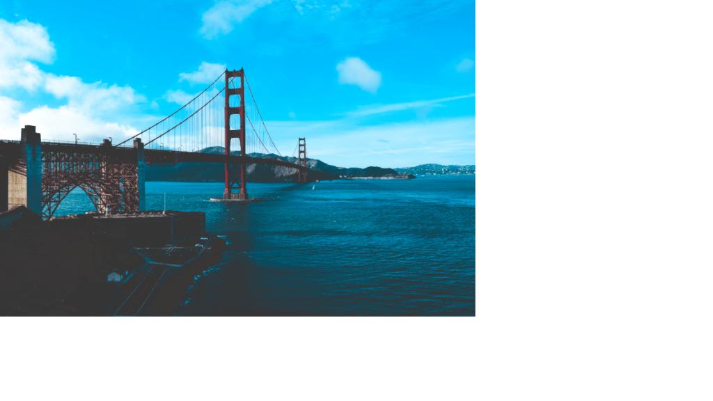 The Golden Gate Bridge Side View